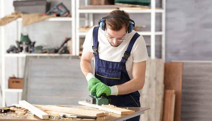 Taller de carpintería en el hogar