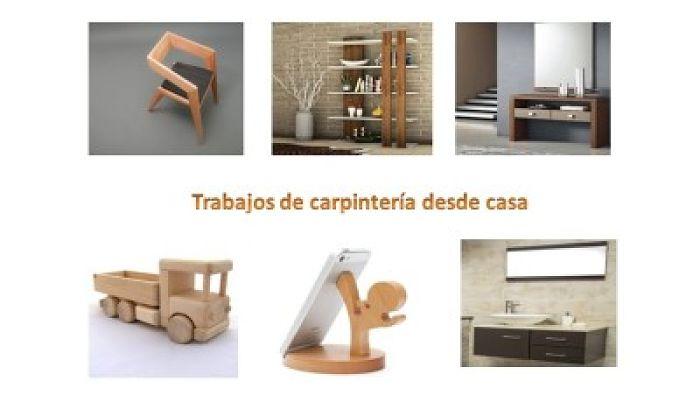 trabajos de carpintería en casa