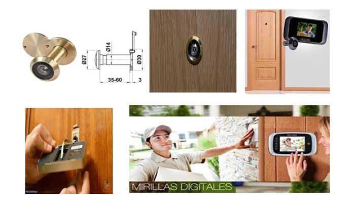 Accesorios para puertas, Mirillas Ópticas