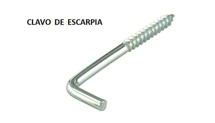 Clavo Escarpia
