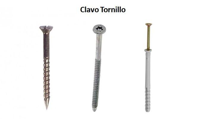 Clavo Tornillo