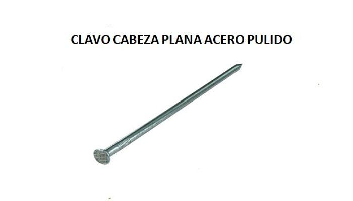 Clavo Cabeza Plana
