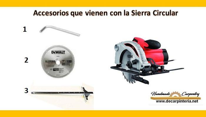 Accesorios Originales de la Sierra Circular