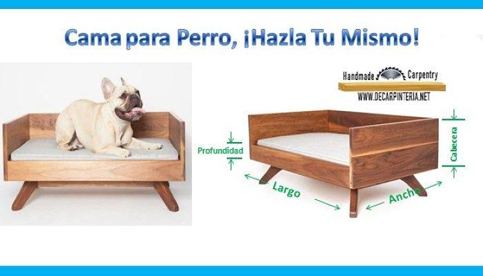 cama para perro hazla tu mismo