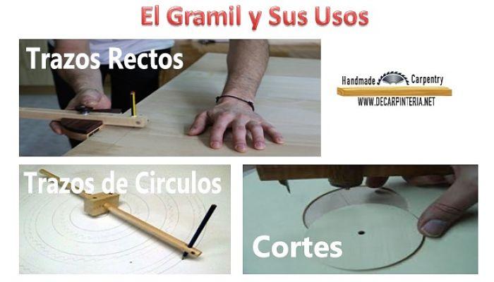 El gramil y sus usos
