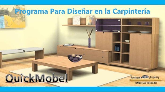 Software de Diseño de Carpintería