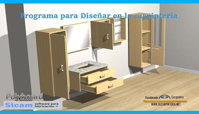Software de Diseño de carpintería Polyboard