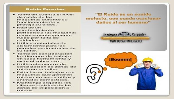 Prevención de accidentes por ruidos excesivos