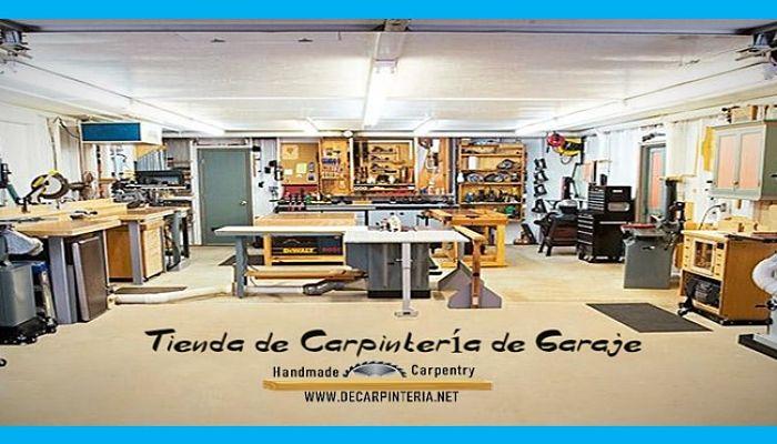 Tienda de Carpintería de garaje