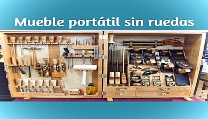 Mueble para herramientas portátil