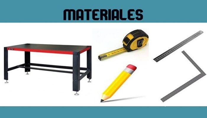 Materiales para trabajar con formica