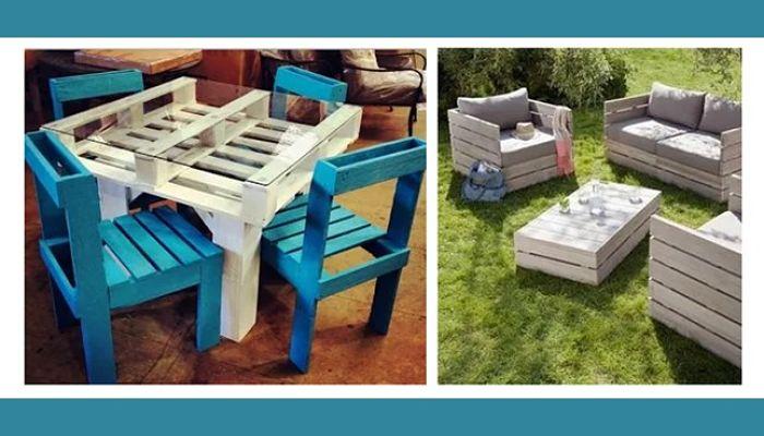 Ideas para crear muebles de palets