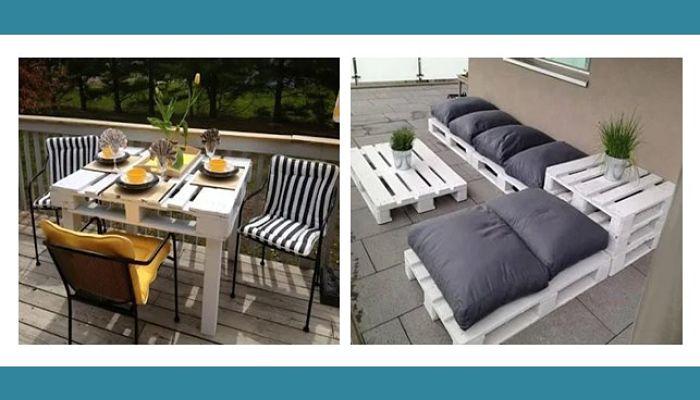 Fotos de la aplicación para diseñar muebles de palets