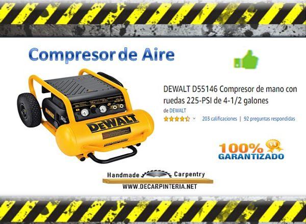 Compresor de Aire Dewalt