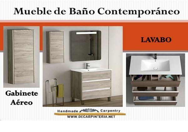 Mueble de Baño Contemporáneo