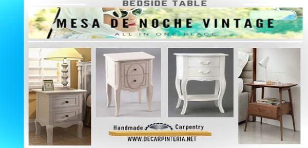 Mesa de Noche Vintage