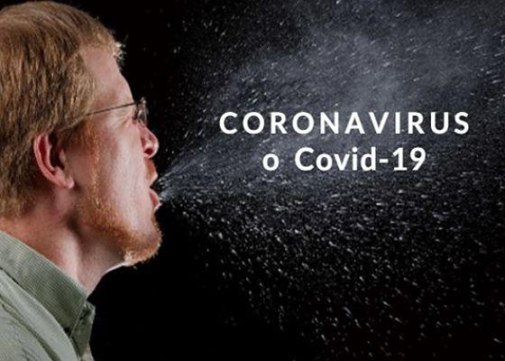 Coronavirus o Covid-19 a través del estornudo