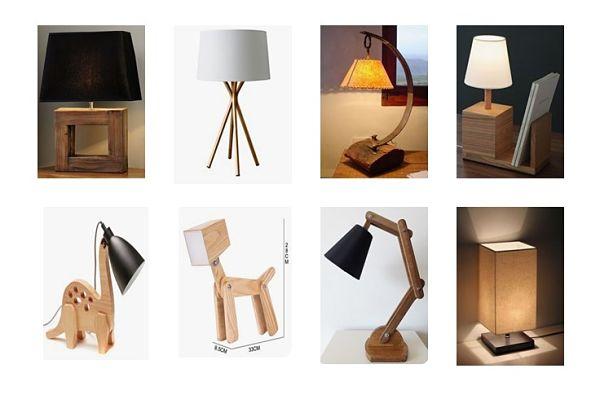 8 Lámparas de mesa más comunes