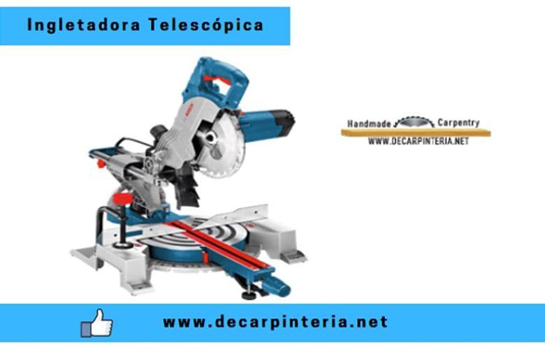 Ingletadora eléctrica Telescópica Bosch