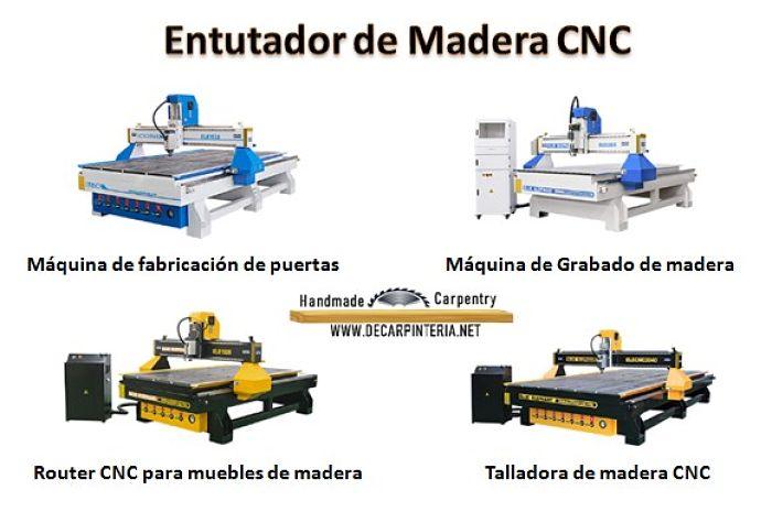 Qué es el CNC, Tipos de Enrutadores de Madera CNC