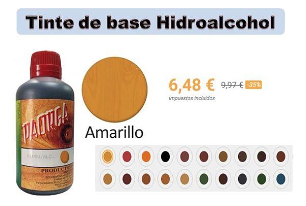 Precio de tinte de base hidroalcohol