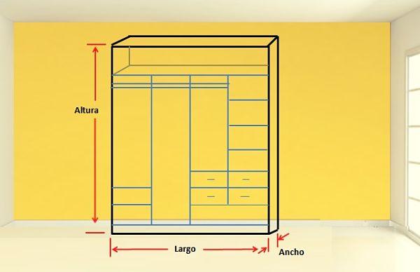 Cómo diseñar un clóset 3 dimensiones
