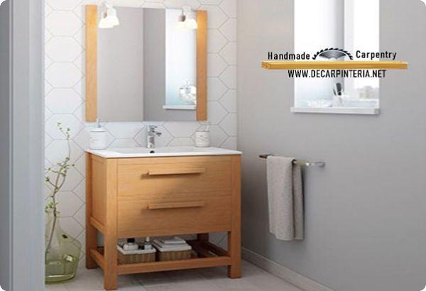 Mueble de baño modelo contemporáneo