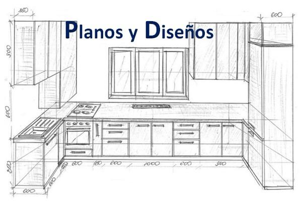 Planos y Bocetos de cocina 2