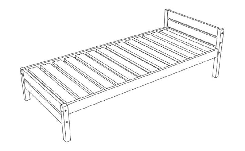 cama individual como construir