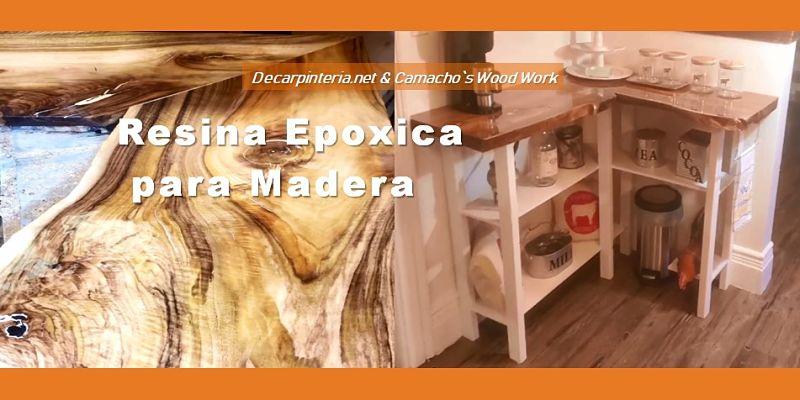 Madera Nuez inglesa con Epoxy