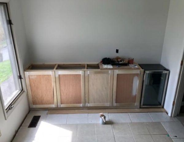 gaveteros de cocina inferior