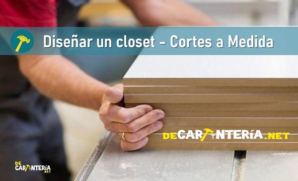 Diseñar un closet - Cortes a Medida